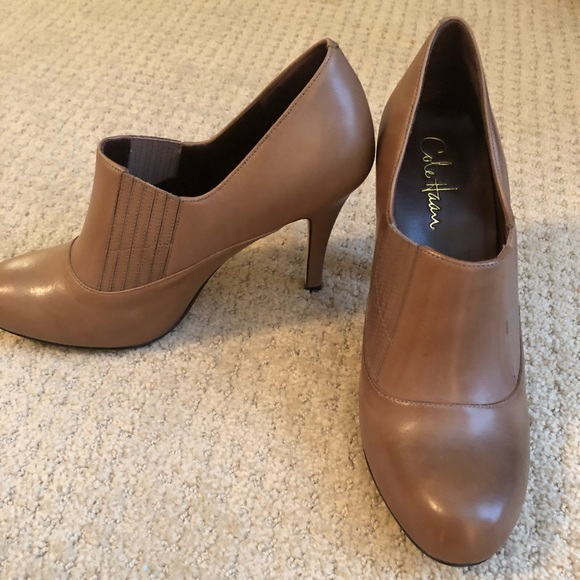 263cf766c0a Cole Haan/Nike Air tan ankle boots - Sz 9